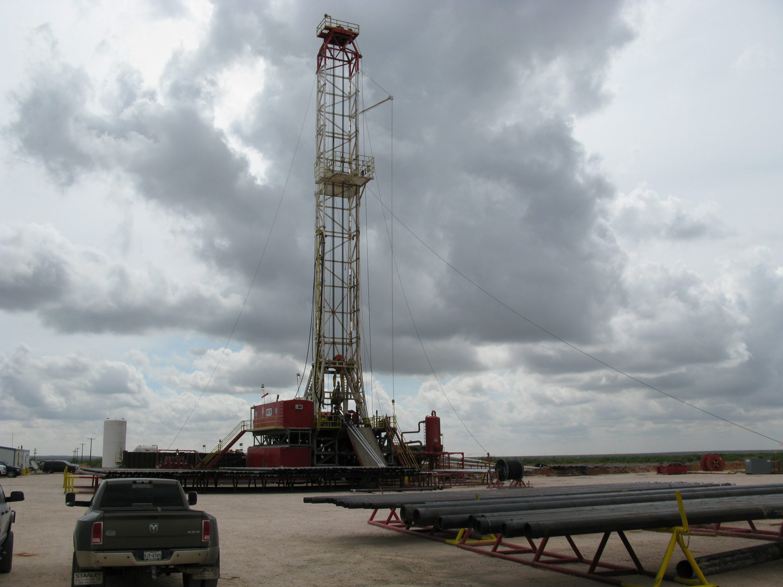 Oil Drilling Rig #2
