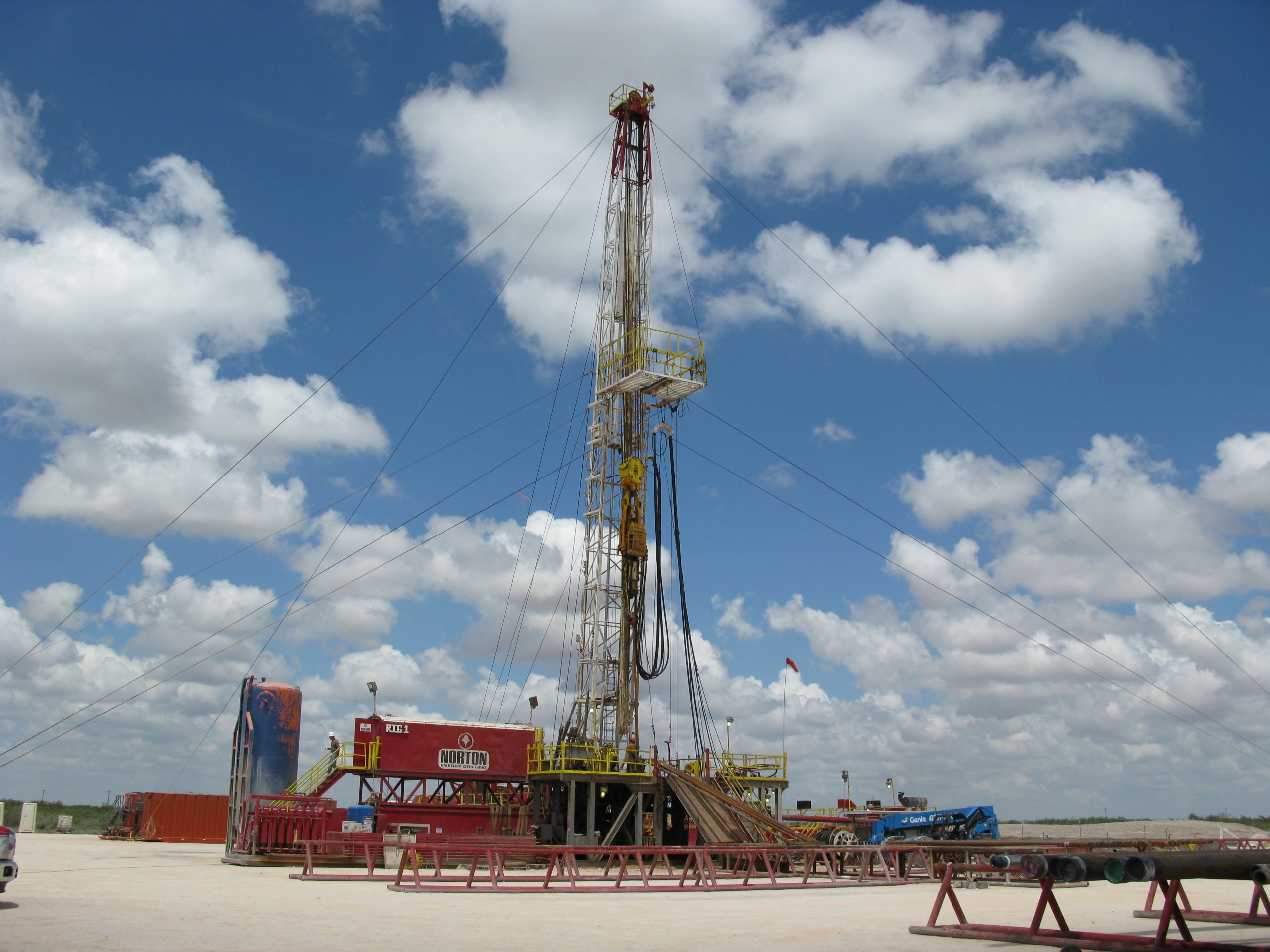 Oil Drilling Rig #3