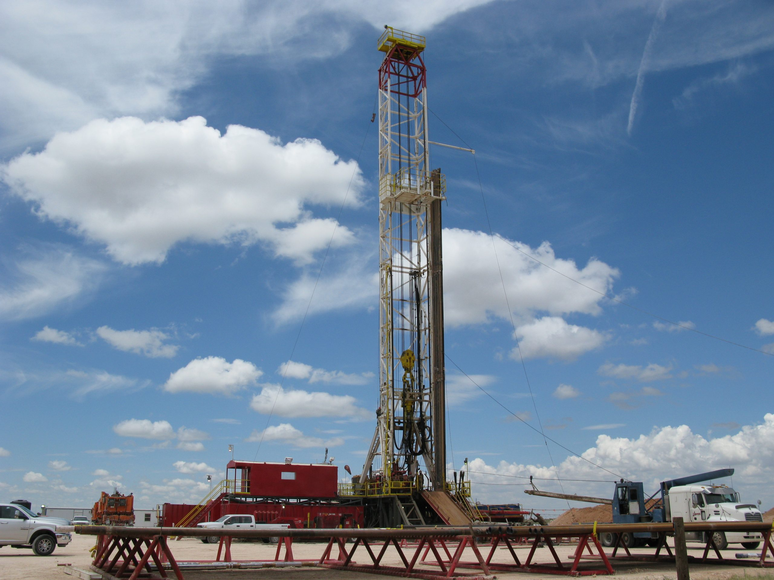 Oil Drilling Rig #4