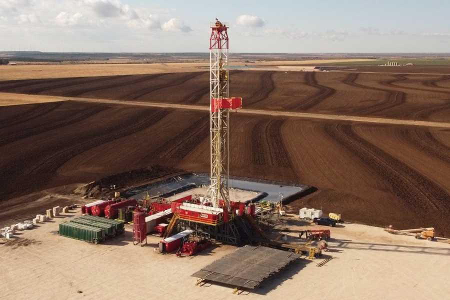 Oil Drilling Rig #1